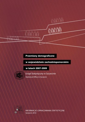 Demographic changes in zachodniopomorskie voivodship in the years 2007-2009