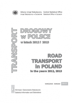 Road Transport in Poland in the years 2012, 2013