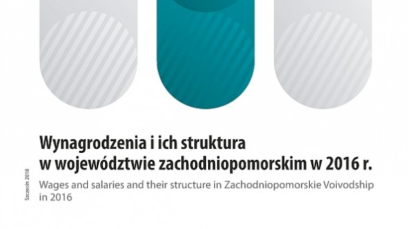The structure of wages and salaries in zachodniopomorskie voivodship in 2016